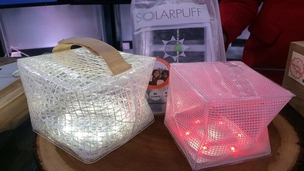 Solar Puff lights