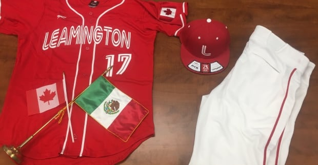 Outfit for Mex-Can International Baseball Tournament