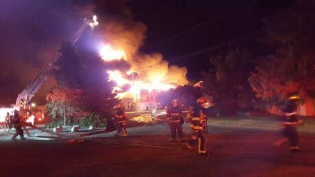 Blackwell Dairy Farm fire