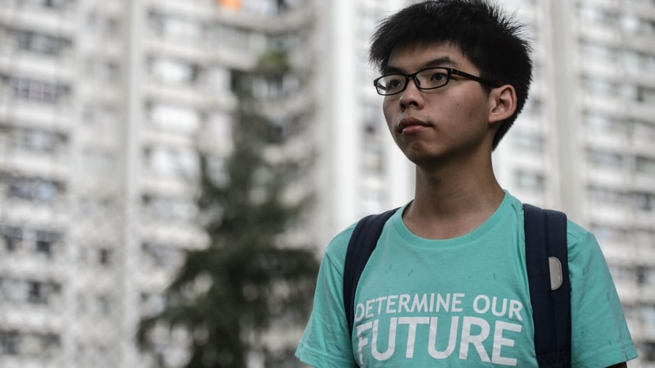 Joshua Wong, 20, has become the focus of a new documentary on Netflix called Joshua: Teenager vs. Superpower