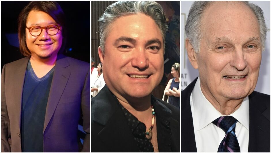 Today on q: author Kevin Kwan, NAC Indigenous Art Director Kevin Loring and actor Alan Alda.