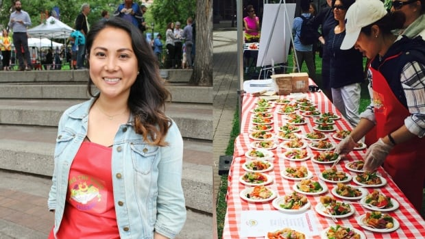Lourdes Juan founded Leftovers Calgary five years ago. The group now operates in two cities and has nearly 200 volunteers.