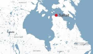 map of salluit