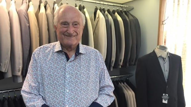 At 91, Frank Atchison has decided it is time to retire and close up his men's clothing store, a Saskatoon institution that has been around for decades.