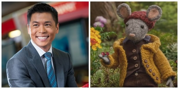 Andrew Chang, host of CBC Vancouver News at 6 and Scout of Scout and the Gumboot Kids