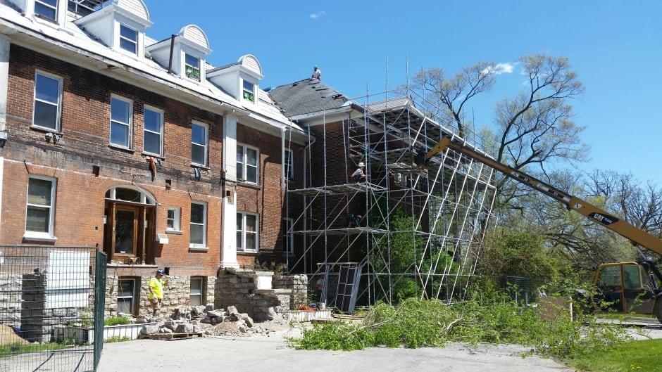 Renovations are underway at the former Mohawk Institute Indian Residential School.