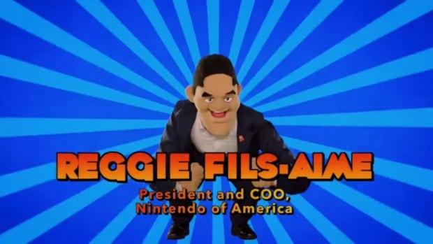 Nintendo Reggie puppet body