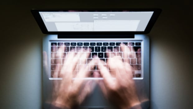 A B.C. elementary school teacher has been reprimanded after a pornographic image was projected to his class of Grade 6 and 7 students from his school laptop.