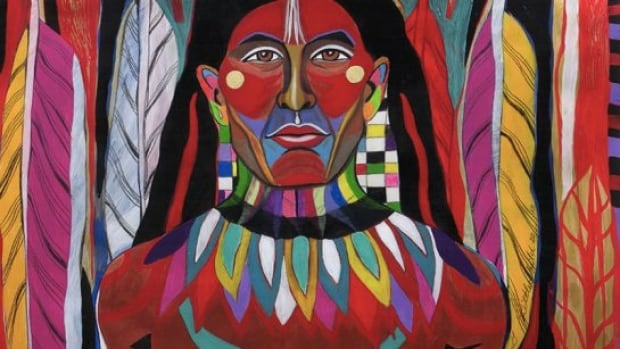 Works by Cree painter George Littlechild will be featured in the exhibition.