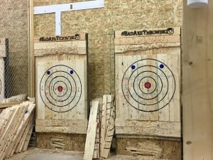 Bad Axe axe throwing