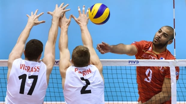 Canada scores big win over Italy in World League volleyball