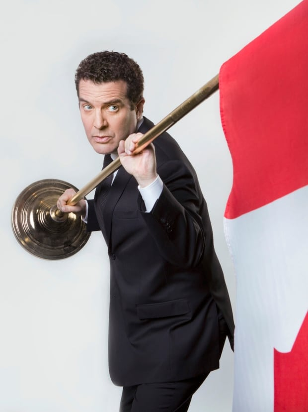 Rick Mercer Canadian flag