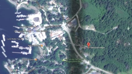Lund B.C. double homicide location
