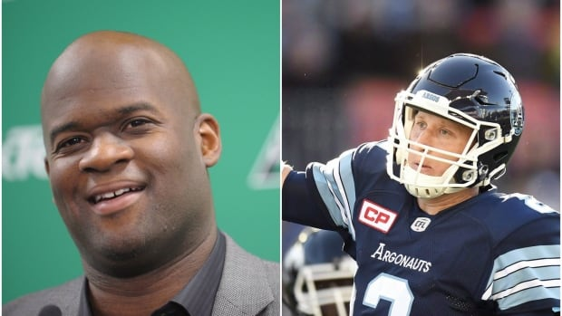 Vince Young, left, and Drew Willy were both cut as CFL teams made their final roster decisions on Saturday.