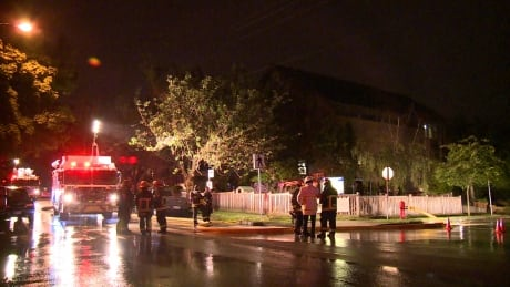 St Augustine Church marpole fire