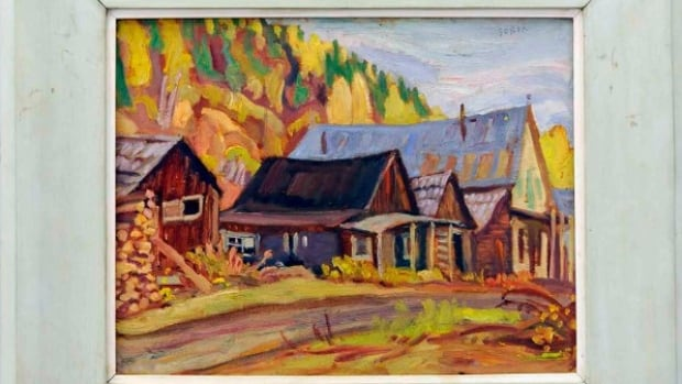The newly found painting will be on display in its original frame in Barkerville, B.C.