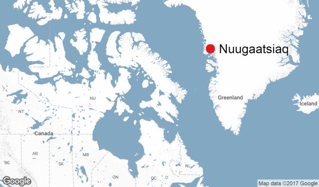 Tsunami Strikes Greenland