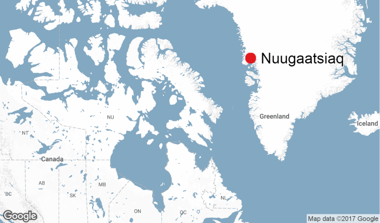 Map Of Canada Greenland And Iceland.At Least 4 Feared Dead After Tsunami In Greenland Cbc News