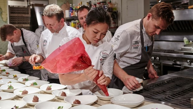 Louise Lu from Skye Bistro & Cafe in Regina was one of ten chefs cooking at the event in New York.
