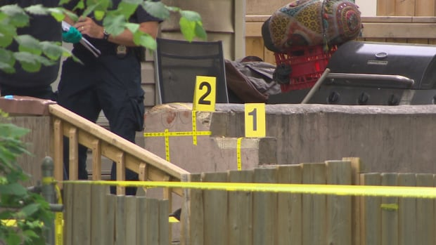 A 37-year-old woman is dead after a fight at a house party in Winnipeg's West End neighbourhood, police say.