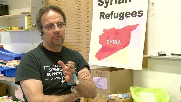 Syrian refugees Sam Nammoura Calgary