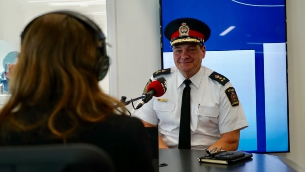 London police chief John Pare is interviewed on London Morning.