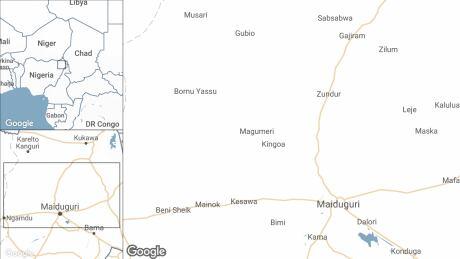 Borno map