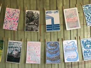 Printing press prints