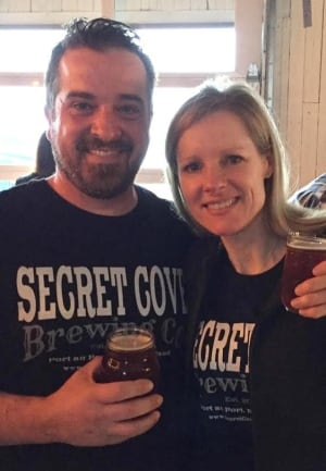 Secret Cove micro-brewery founder and partner