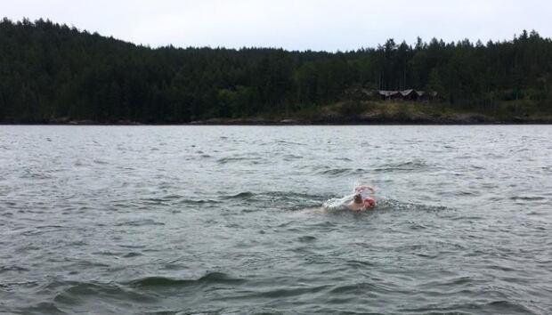 Emily Epp Bowen Island swim
