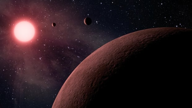 NASA's Kepler space telescope team has identified 219 new planet candidates, 10 of which are near-Earth size and in the habitable zone of their star shown in this artist's rendering.