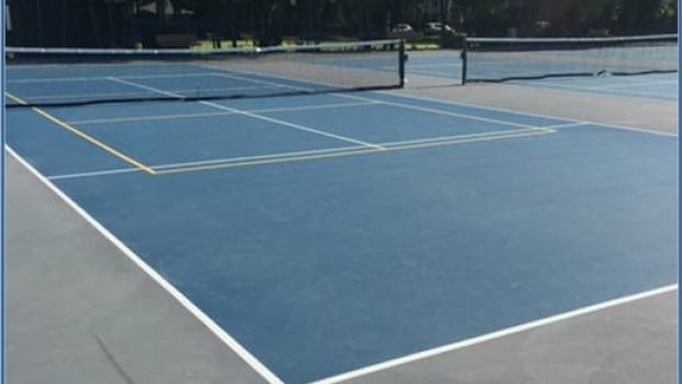 The condition of Winnipeg's tennis courts has vastly improved since 2013.