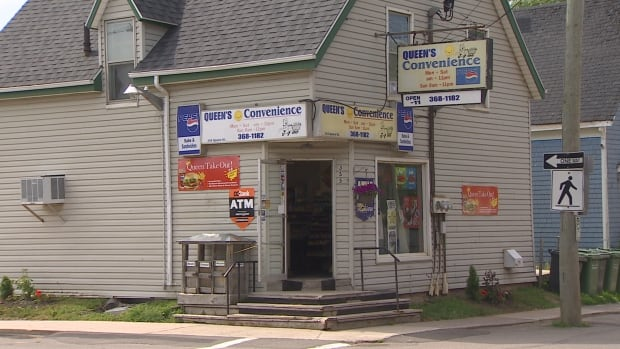This convenience store on Queen Street in Charlottetown was robbed in January 2017.