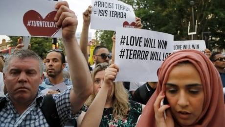 Britain Mosque Attack