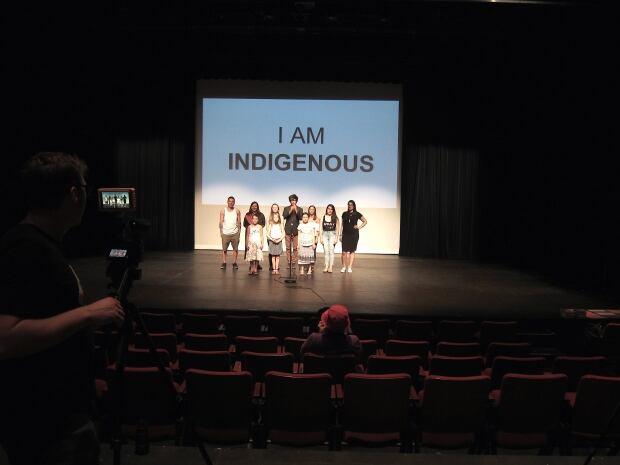 I am Indigenous group shot
