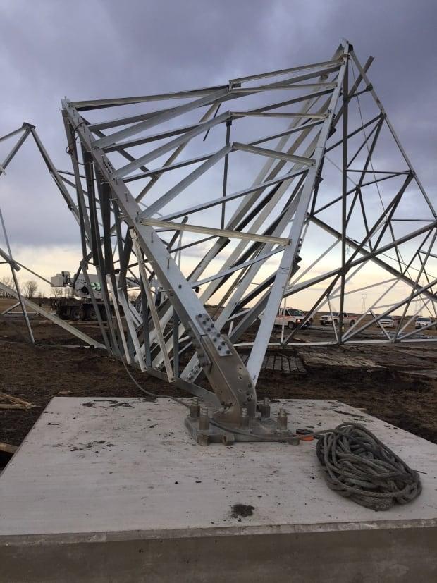 May 2 tower down