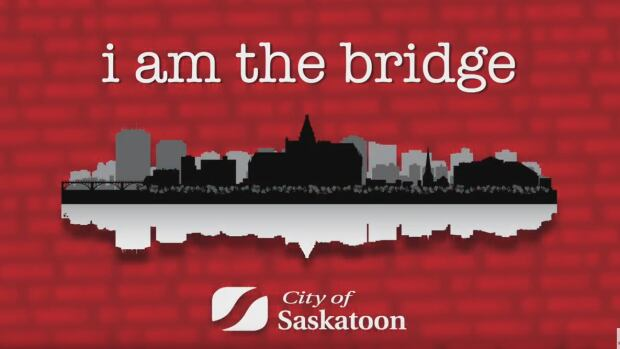 An image from the City of Saskatoon's I am the Bridge campaign, designed to share people's stories and insights on racism.