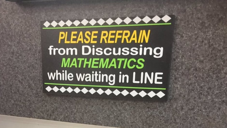 The story behind that Connecticut deli math sign | CBC Radio