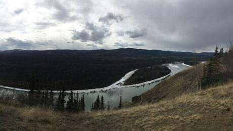 Yukon River near Carmacks