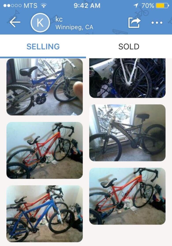 69a5a9c0c1c Winnipeg man who says he found stolen bike for sale online ...
