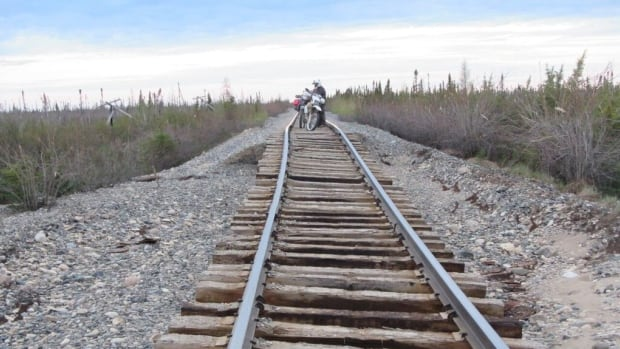 An unusually heavy spring snowmelt damaged the Hudson Bay Railway, the only land link to community, making propane difficult to ship in.