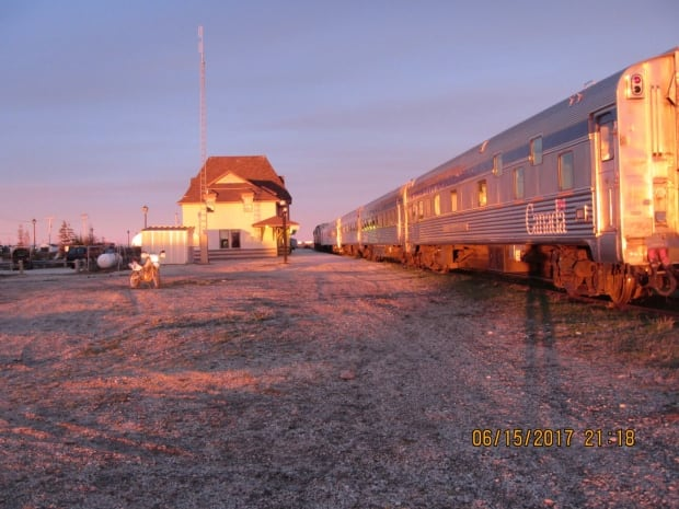 Via train in Churchill
