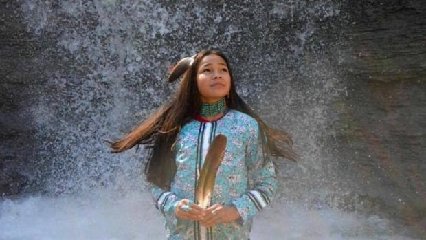 Autumn Peltier, 12, is a water protector and is one of 18 people featured in CBC's 'I Am Indigenous' project, which aims to tell more positive stories of Indigenous people in Canada.