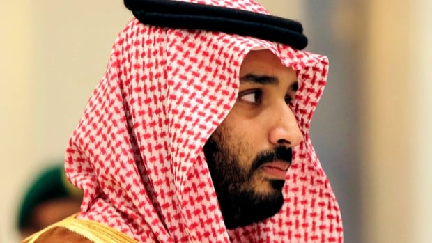 Saudi Arabia's king says his 31-year-old son Mohammed bin Salman, seen in this 2015 photo, has been appointed crown prince.