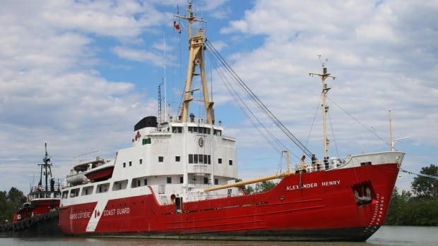 The Alexander Henry has found a new, permanent, home on Thunder Bay's waterfront.