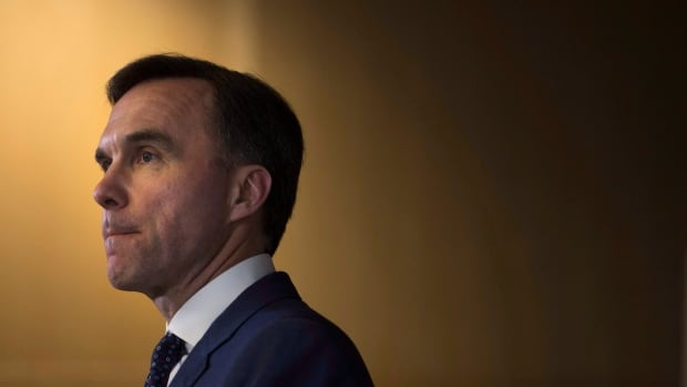 Some senators weren't happy to see Finance Minister Bill Morneau and other Liberal MPs outside the Red Chamber's entrance Tuesday evening ahead of a key Senate vote on an amendment to the government's budget bill.