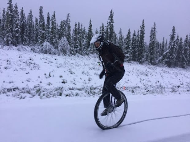 When a freak snowstorm stops the Yukon-Alaska bike relay, who is left to compete...