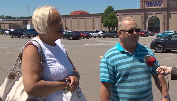 Sears shoppers, Wanda and Robin McFarlane, NB