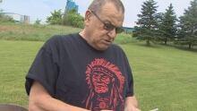 Relative of Warrior Chief Frank Thomas
