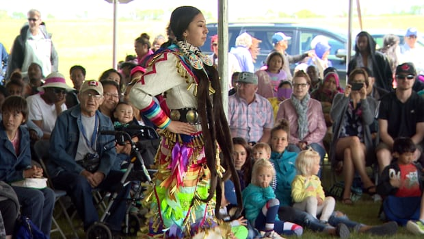 An inter-tribal powwow was part of celebrations at Wanuskewin Heritage Park in Saskatoon on June 21. MP Georgina Jolibois has tabled a private member's bill to declare National Indigenous People's Day a statutory holiday nationwide.